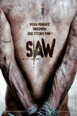 """Affiche du film """"Saw 5"""""""