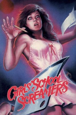 "Affiche du film ""Girls School Screamers"""