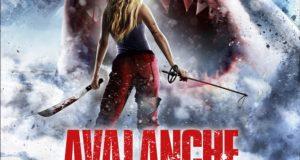 "Affiche du film ""Avalanche Sharks"""